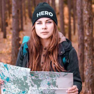 Nuhemp Brand hero beanie outdoors hero hat