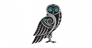 Wise Owl Brand Owl Mascot