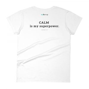 Nuhemp Brand Hero Tribe Calm is my superpower