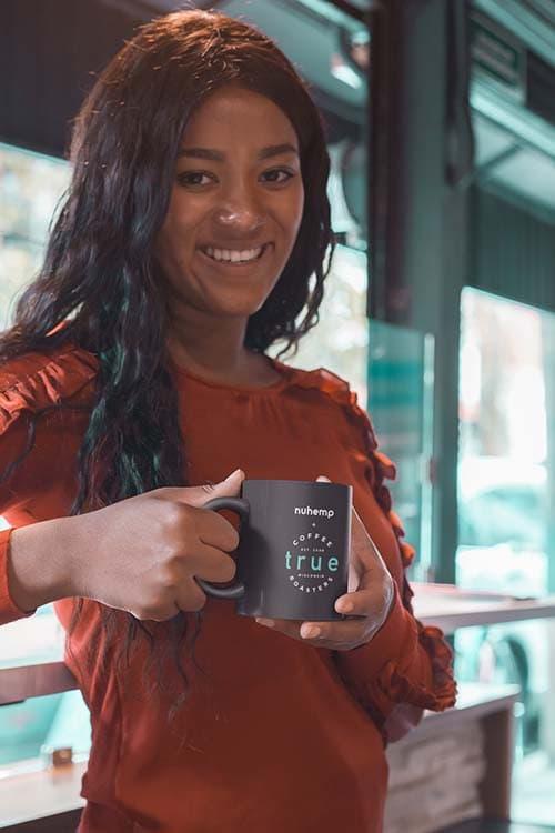True to the bean True coffee roasters and nuhemp stay woke jitter free