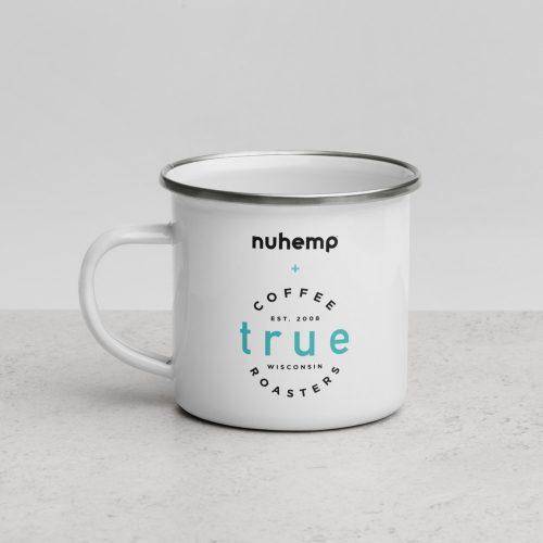 Nuhemp True Coffee Double Sided ceramic mug