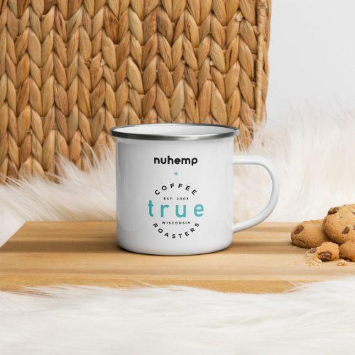 Nuhemp True Coffee Double Sided ceramic mug right